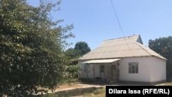 Дом, где провела последние дни Аягуль Мантай