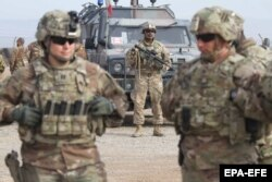 شماری از نیروهای امریکایی در افغانستان