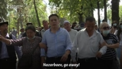 Detentions At Kazakh Opposition Rally