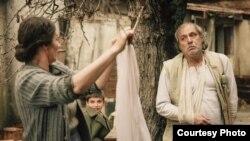 """Раде Шербеџија како Ѓорѓија во филмот """"Ослободувањето на Скопје"""""""