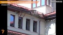Будинок мера Львова обстріляли з гранатомета