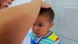 Мальчик с синдромом Ларона из Кульсары