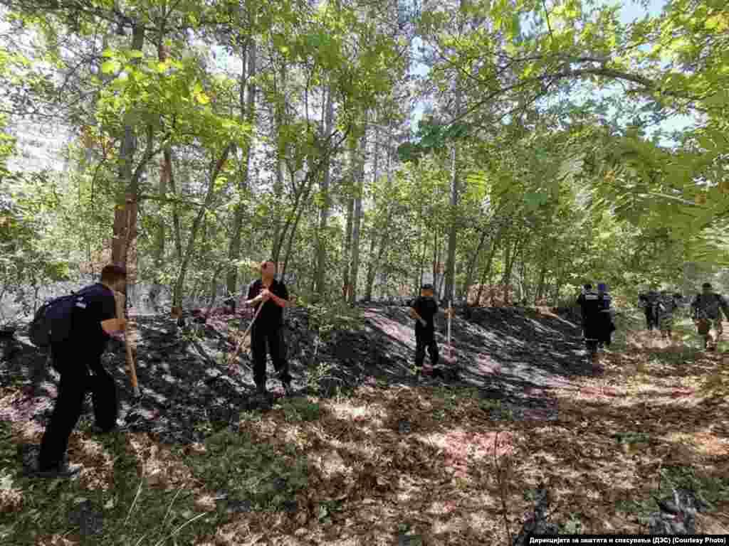 Екипи на Дирекцијата за заштита и спасување (ДЗС) интервенираат за гасење на пожари во атарот на селата Црник, Умлена и Чифлик во близина на Пехчево. Распоредени се екипи за контролирање на опожарените површини.