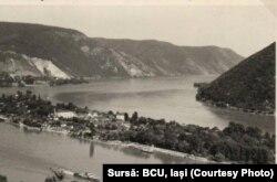 Dunărea interbelică: insula Ada Kaleh 1938