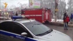 Волгоград. Троллейбус портлаган жой