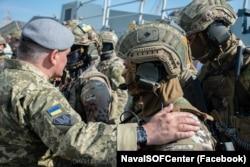 Військовослужбовці 73-го Морського центру спеціального призначення Сил спецоперацій ЗСУ