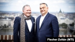 Orbán Viktor fogadja Péterffy Tamás üzletembert, az Interactive Brokers Group alapító-tulajdonosát 2021. június 1-jén