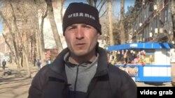 Давлатёр Хоҷаев, корҷӯи тоҷик дар мардикорбозори Душанбе