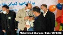 آرشیف، تطبیق واکسین پولیو در غرب افغانستان