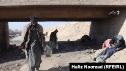 آرشیف، محل بود و باش معتادان در کابل