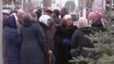 Баткен: Чек арада жашагандар митингге чыкты
