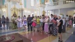 """Массовое крещение """"детей-патриотов"""" в Ульяновске"""