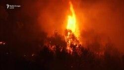 Lufta me zjarret në Kroaci
