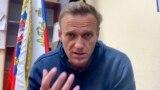 Алексей Навальный во время судебного заседания, 18.01.2021