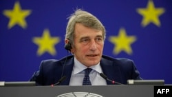 Presidenti i Parlamentit Evropian, David Sassoli.