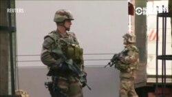 Очевидец о контр-террористической операции в Париже