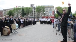 У Херсоні встановили рекорд з наймасовішого виконання державного Гімну України духовим оркестром