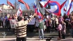 У Сімферополі міні-мітинг на «підтримку південного сходу України»