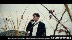 Кадр из фильма. Роман Шерстнёв