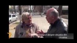 Vox pop: ce gândesc transnistrenii despre evenimentele din Ucraina?