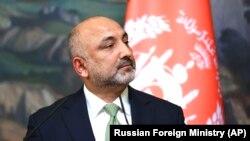 د افغانستان د بهرنیو چارو وزیر محمد حنیف اتمر
