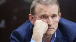 Viktor Medvedchuk in court in Kyiv on May 13