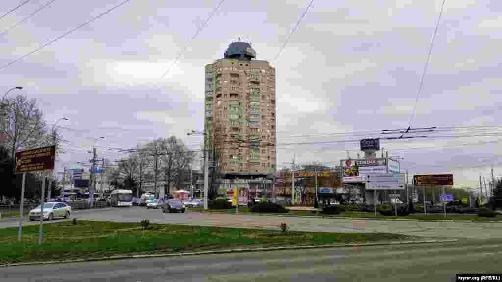 Так виглядає кільце з боку вулиці Київської