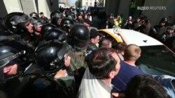 Відео розгону мітингу в Москві