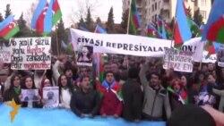 16.03.2015 Протести во Азербејџан, Пакистан и БиХ