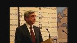 ՀՀ նախագահի ելույթը Լոնդոնում