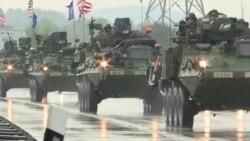 Американский конвой отправляется на учения в Восточной Европе