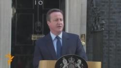 Cameron najavio ostavku poslije glasanja o 'Brexitu'