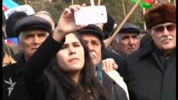 """Milli Şura """"Talana və Yalana Son!"""" şüarı ilə mitinq keçirdi (Geniş reportaj)"""