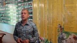 Олег Зубков представил стенд с именами тех, кто поддержал его парки (видео)