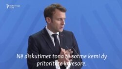 Macron: Nuk do të imponojmë zgjidhje për Beogradin dhe Prishtinën