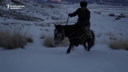 A Snowy Trek On Horseback To Teach School