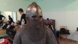 Тираспольские витязи - в кольчугах и с мечами