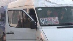 В Бишкеке – транспортный коллапс из-за сильных морозов