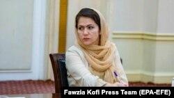 فوزیه کوفی، عضو هیئت گفتگو کننده حکومت افغانستان