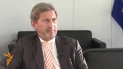EU's Hahn Warns Danger Of New Russia Sanctions
