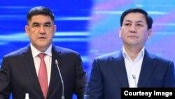 Курсан Асанов и Абдиль Сегизбаев.