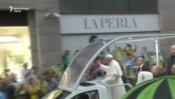 VIDEO. Papa Francisc la București. Ce nu s-a văzut la televizor