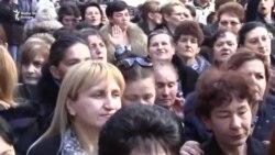 Podgorica: Majke protestovale zbog smanjenja naknada