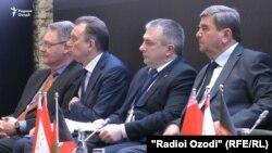 Форум деловых кругов Таджикистана, Беларуси и Афганистана в Душанбе, 6 апреля 2021 года