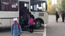 Ақтөбеде мыңдаған оқушы мектепке суық автобуспен қатынайды