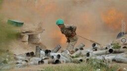 درگیری آذربایجان و ارمنستان روی منطقۀ نگورنوقرهباغ
