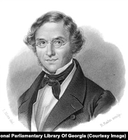 Фредерик Дюбуа (1798-1850 гг.) был франкоговорящим жителем Нойшателя, находящегося на территории современной Швейцарии. Помимо Кавказа, Дюбуа много путешествовал по Крыму.