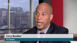 U.S. Senator Booker Says Ukraine At Fulcrum Of Russian 'Aggression'
