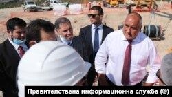 """Бойко Борисов на посещение на строителна площадка на """"Балкански поток"""", както е официалното име на продължението на """"Турски поток"""" през България"""