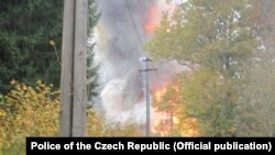 Вибухи на складах боєприпасів у місцевості Врбетіце на сході Чехії сталися 16 жовтня, а потім 3 грудня 2014 року.